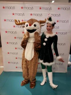 Rudolph and Party Elf Atlanta GA