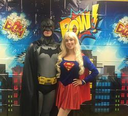 Supergirl and Batman Party Atlanta