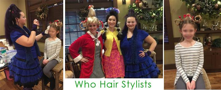 Who Hair Stylists | Crazy Hair Party