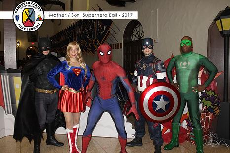 Atlanta Super Hero Parties   Superhero Party Characters