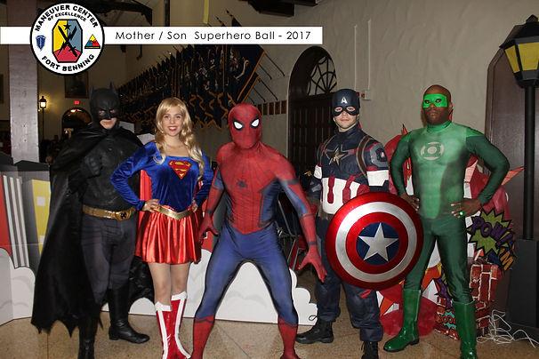 Atlanta Batman Spiderman Captain American Greeen Lantern Costumed Characters