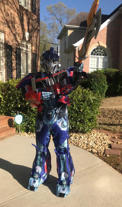 Transformer Character Rental Atlanta