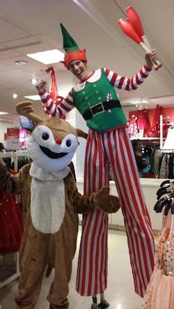 Elf / Holiday Stilt Walker - Atlan