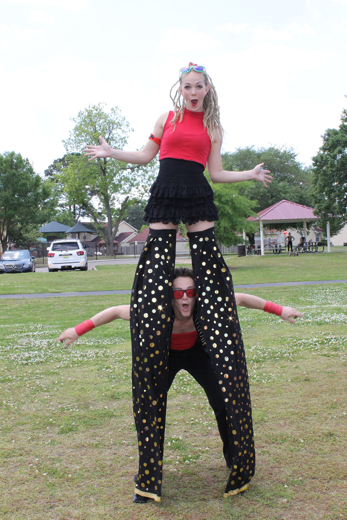 Corporate Event Stiltwalker Atlanta