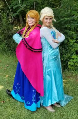 Frozen Party Characters Atlanta