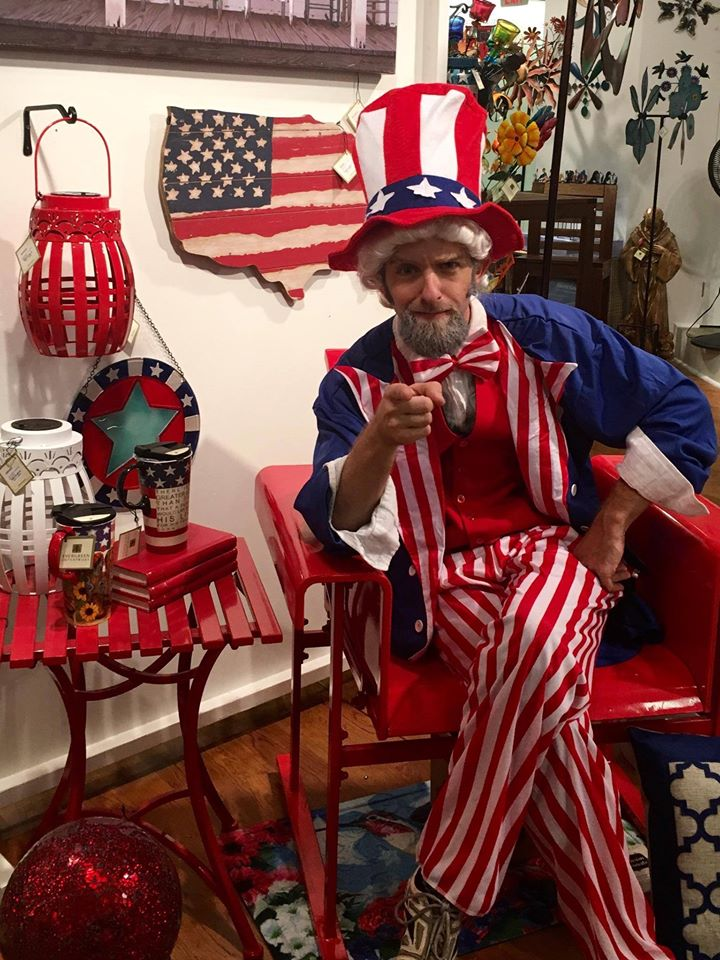 Uncle Sam - Fourth of July Character