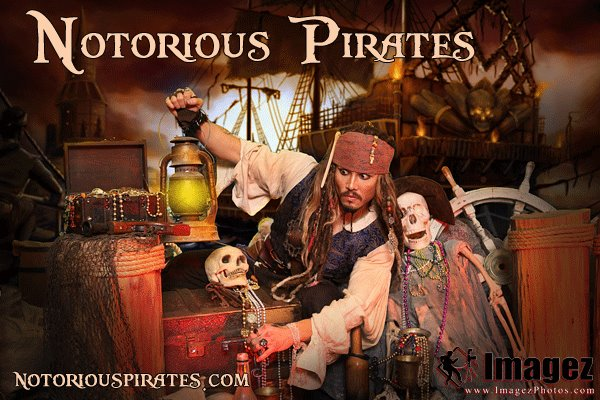 Atlanta's Best Captain Jack Sparrow