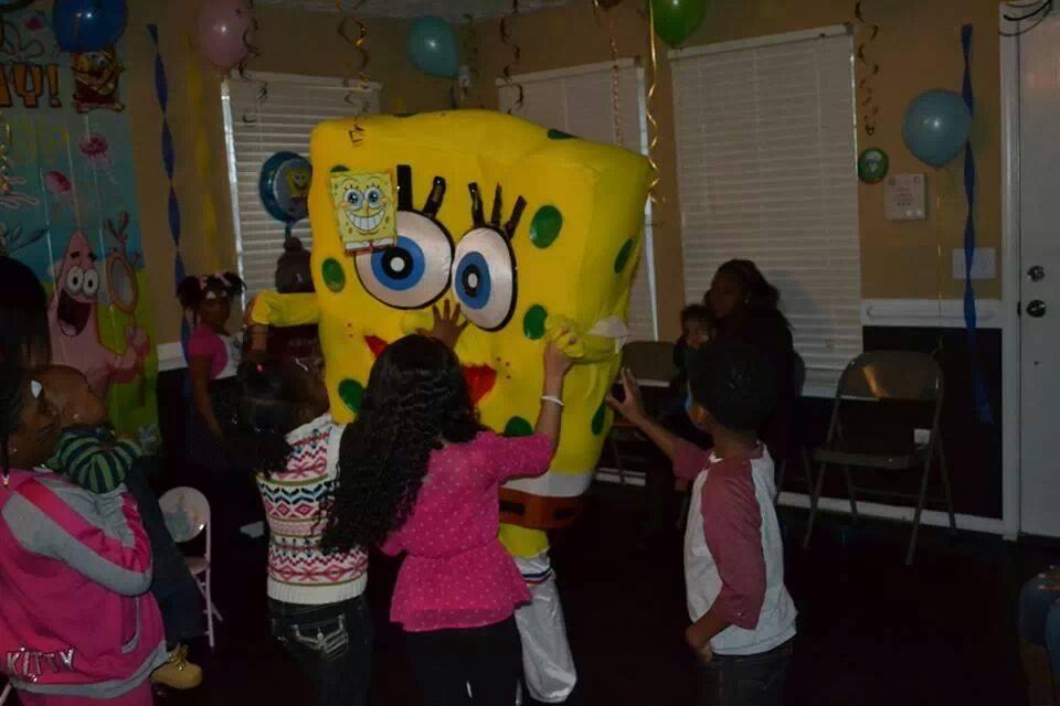 Atlanta Spongebob Birthday Party