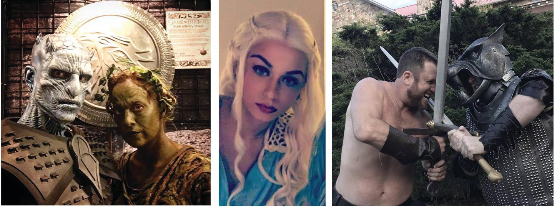 Game of Thrones Characters Atlanta
