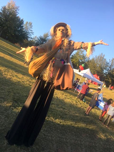 Scarecrow Stilt Walker Georgia