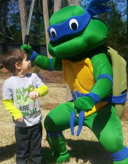 Atlanta Ninja Turtle Birthday Party