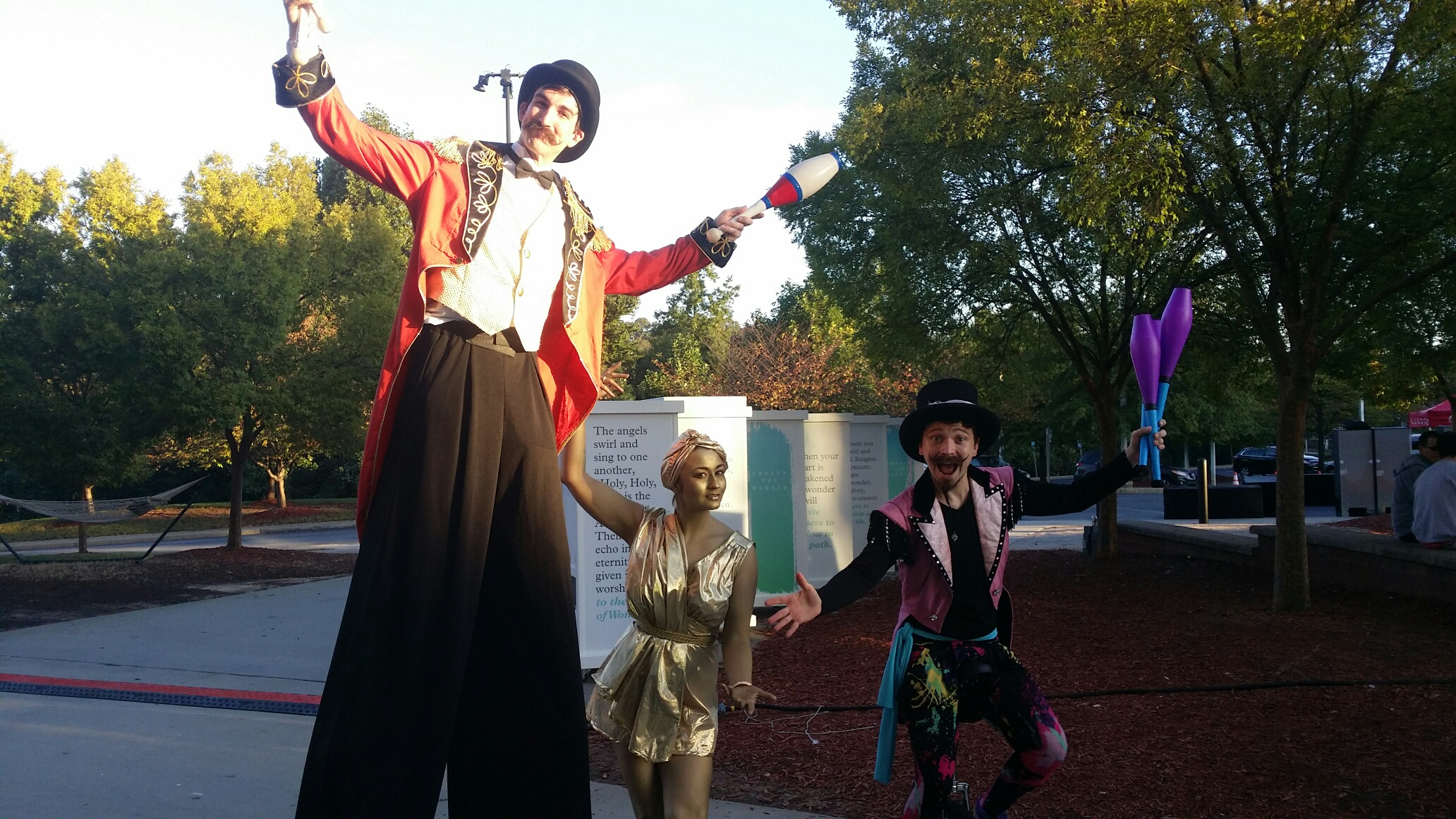 Stilt Walker Atlanta Georgia