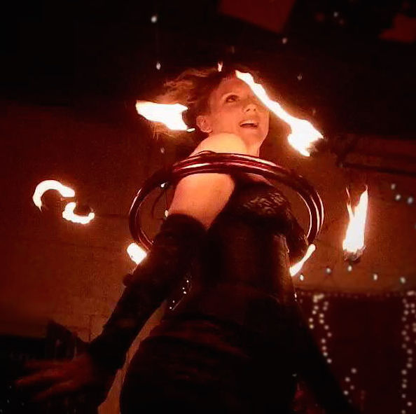 Female Fire Dancer Atlanta