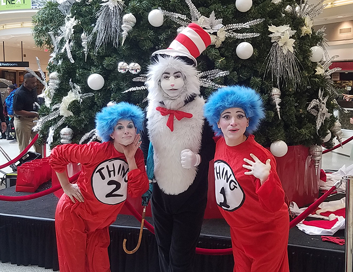 Dr Suess Cat in the Hat Character GA