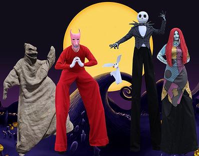 Nightmare Before Christmas Characters Atlanta