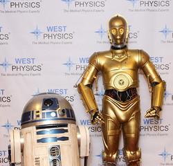R2D2 and C3PO - Atlanta Star Wars
