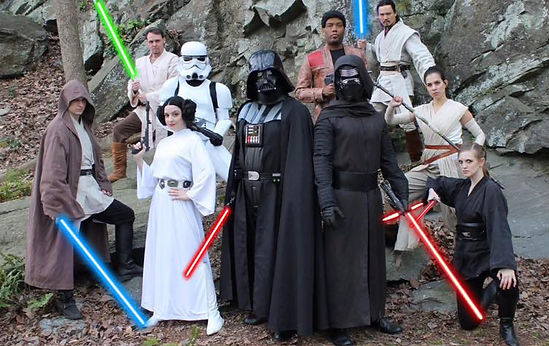 Atlanta Star Wars Costumed Character Rental | Jedi Bithday Party