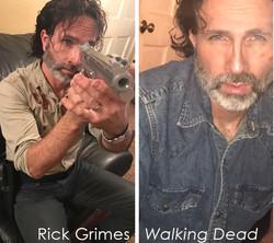 Rick Grimes impersonator