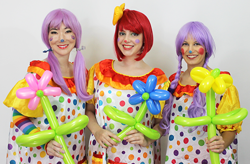 Spring Easter Clowns
