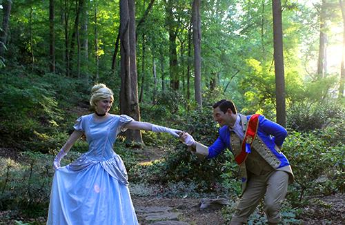 Cinderella and Prince Party Atlanta