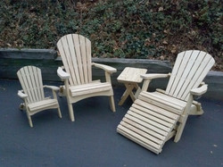 Folding Adirondack Chairs & Tables