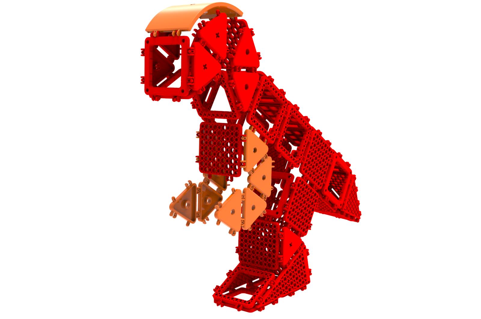 공룡4-52PCS