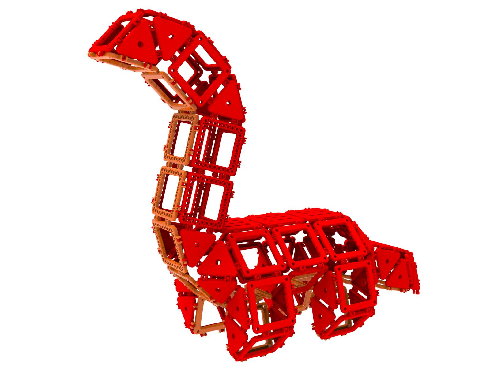 공룡11-91PCS