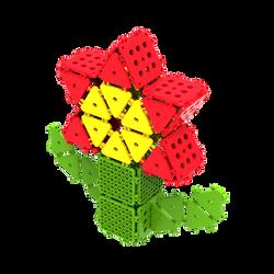 꽃 49PCS