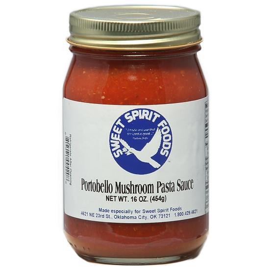 Portobello Mushroom Pasta Sauce