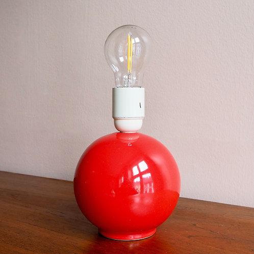 Tomatrød Kulelampe