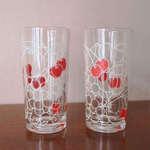 Kirsebærglass 4 stk