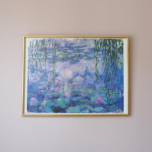 Kunstplakat Claude Monet