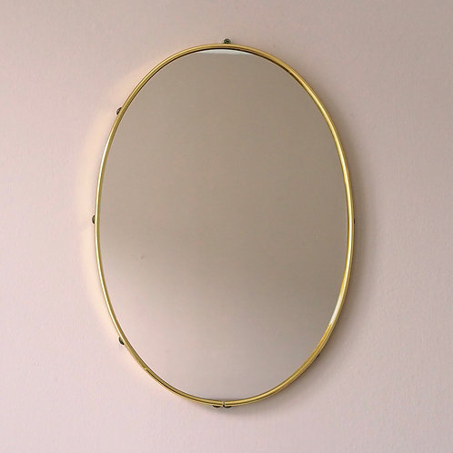 Ovalt Speil