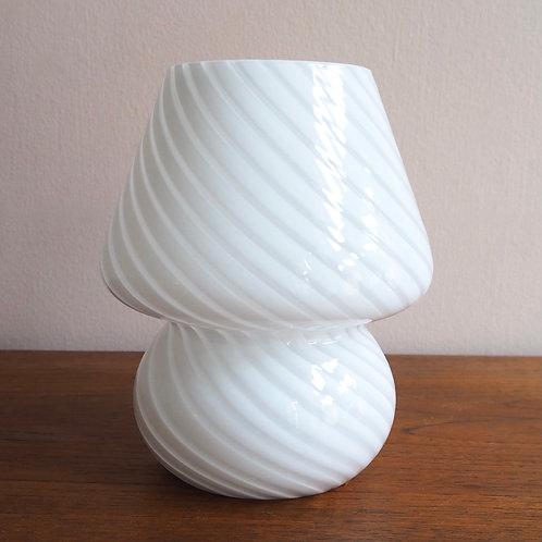 Hvit Sopplampe
