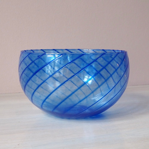 Blå Bolle Swirl