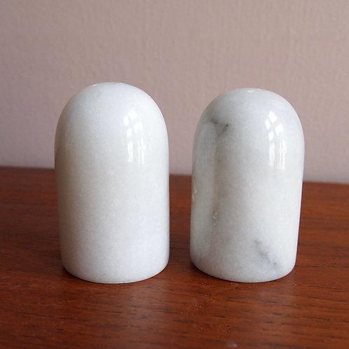 Marmor Salt og Pepperbøsser