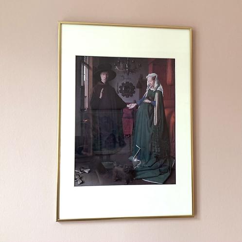 Kunstplakat Jan van Eyck