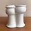 Thumbnail: Vase med fjes