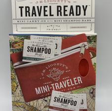 Mini shampoo bar Travel pouch