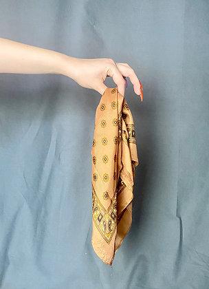 Brown European Headscarf