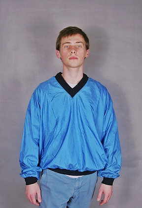 Powder Blue Bomber- Windbreaker