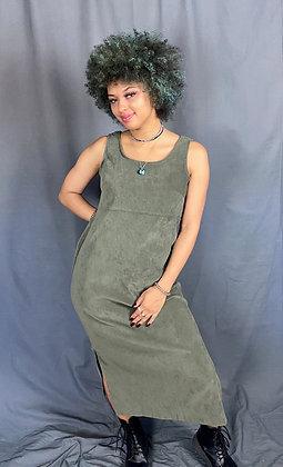 Risky Soft Green Maxi Dress