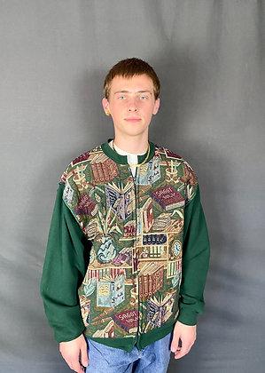 Pagemaster Zip Up Sweatshirt