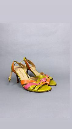 Multicolor Baby Heel
