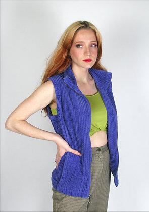 Purple Texture Vest