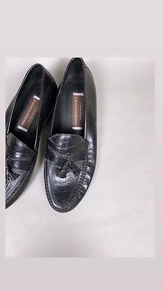 Black Tassel Dress Shoe