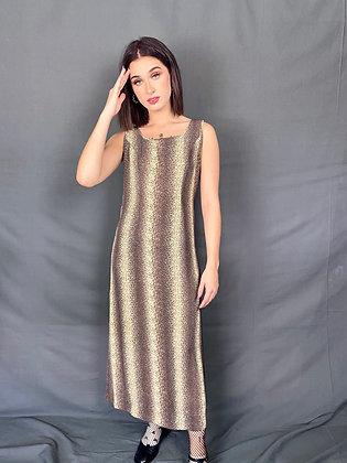 Mystic Print Maxi Dress