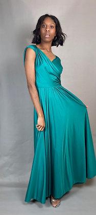 80s Green Prom Dress