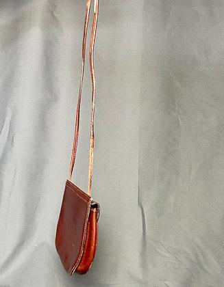 Brown Mini Saddle Bag