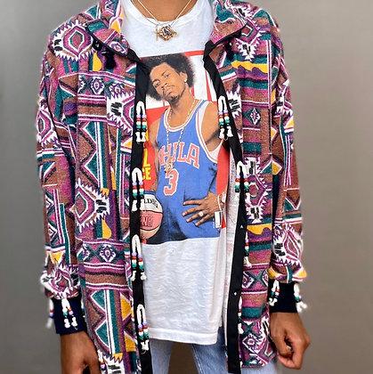 Tribal Beaded Jacket